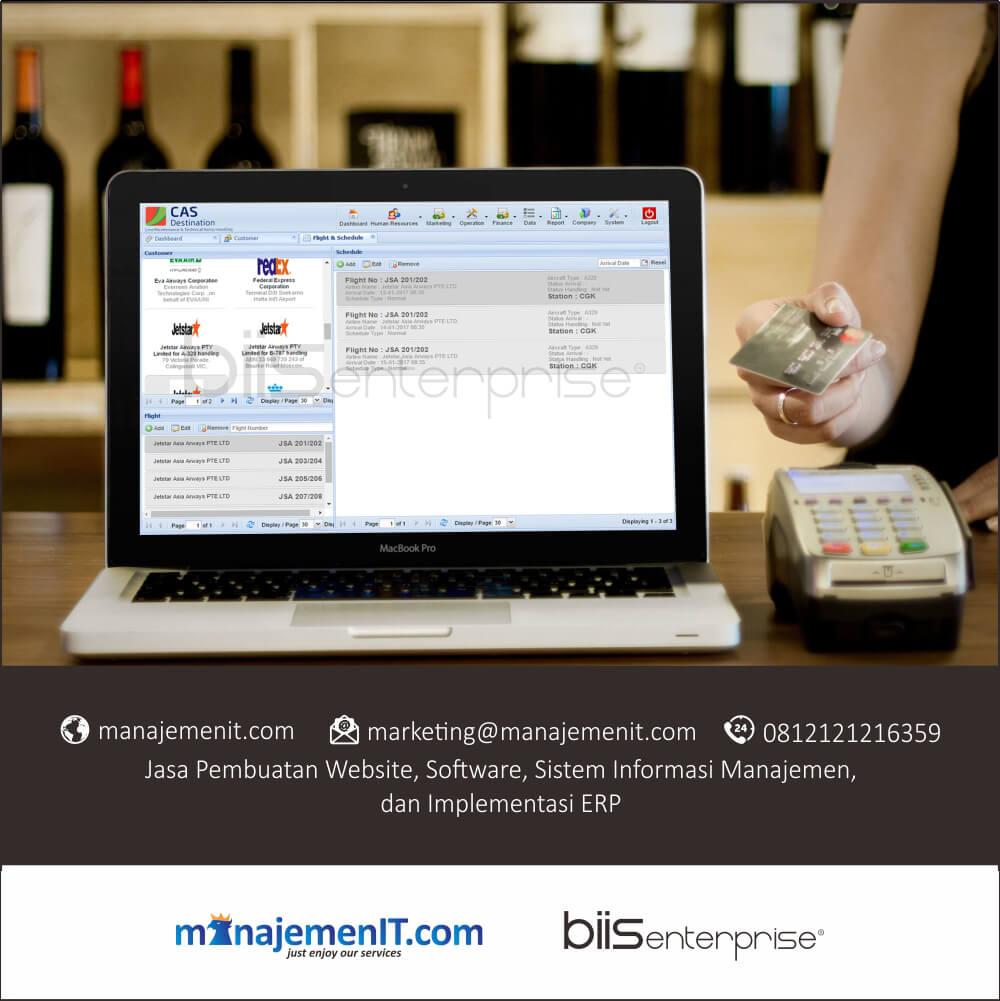 4 – portofolio sistem informasi manajemen billing system jae services jakarta – data schedule