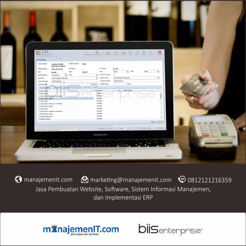 6 – portofolio sistem informasi manajemen billing system jae services jakarta – handling form